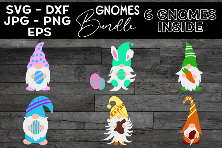 Easter Gnomes Bundle, Gnomes SVG, Easter Gnomes Clipart