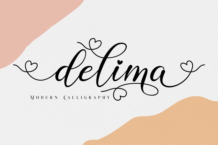 Delima // Modern Calligraphy