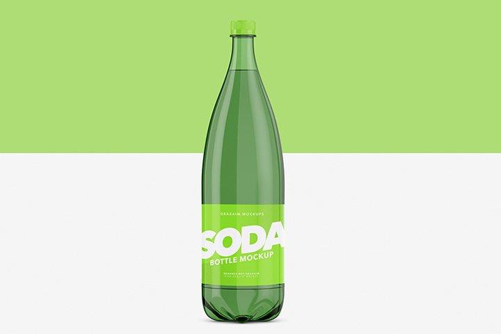Soda Bottle Pet - Mockup