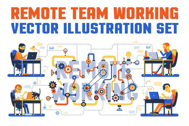 Remote Team Working Set
