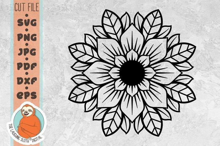 Pretty Flower SVG 1- Flower SVG