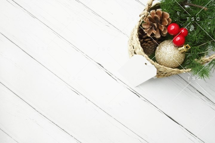 Christmas Stock Photo / Background Image / Gift Tag