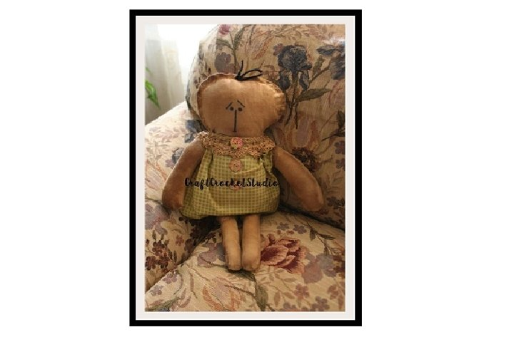 15 Primitive Rag Doll Pattern