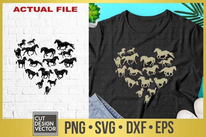 Horses Heart SVG