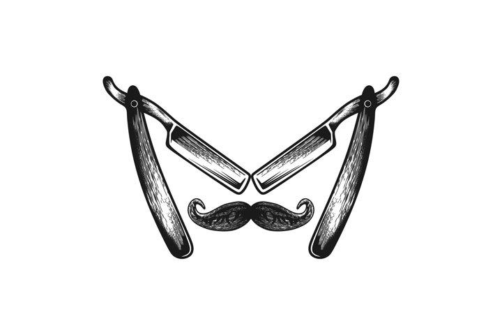 barber logo design inspiration