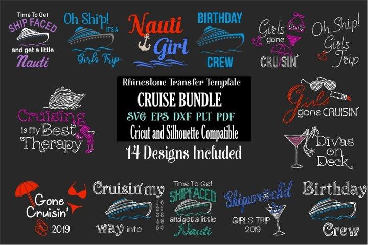 Cruise MEGA Bundle - Rhinestone and Vinyl SVG Designs