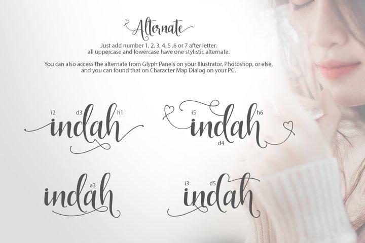 Indah Script example 3