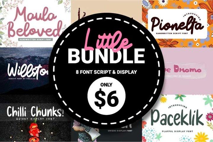 Little Bundle Script & Display Font