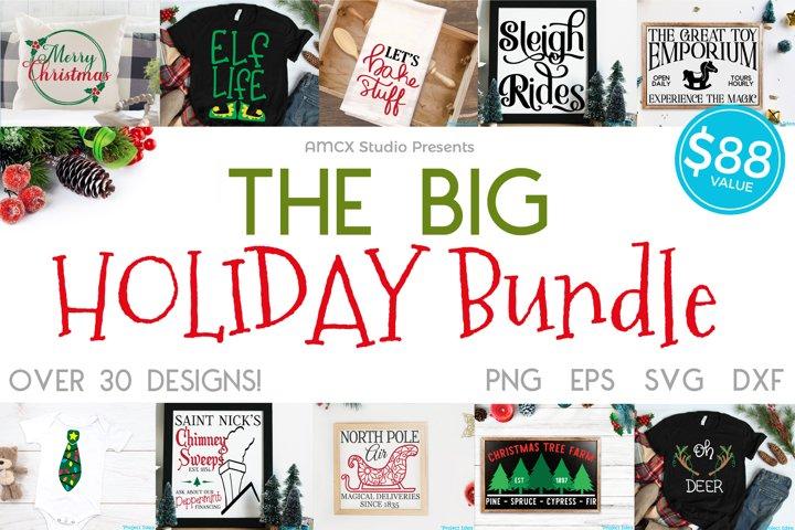 Big Holiday Bundle - Christmas Craft Files