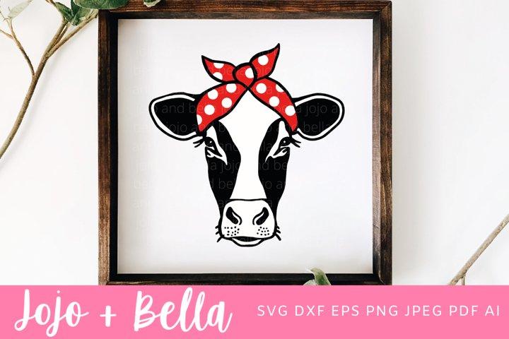 Cow Svg   Farmhouse SVG   Heifer Svg
