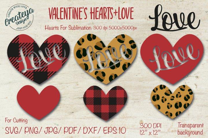 Heart SVG, Valentine SVG, Leopard heart, Valentines SVG