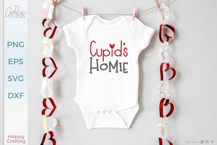 Cupids Homie -Kids Valentine Design
