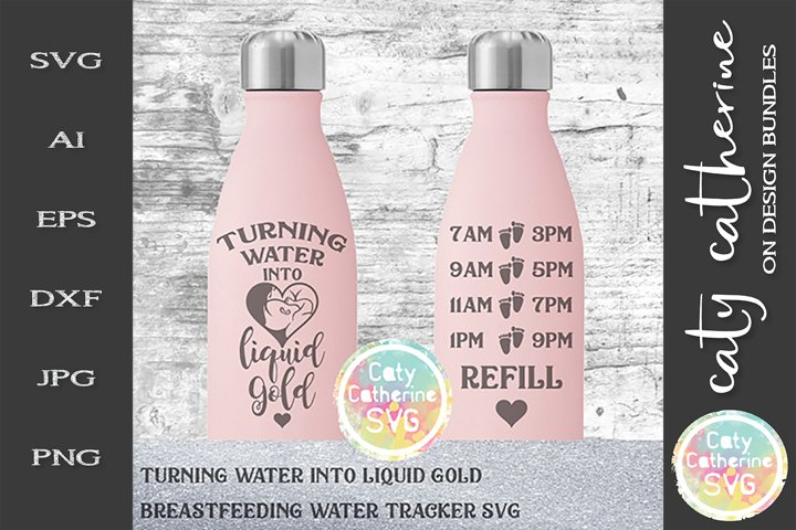 Turning Water Into Liquid Gold Breastfeeding Water Tracker