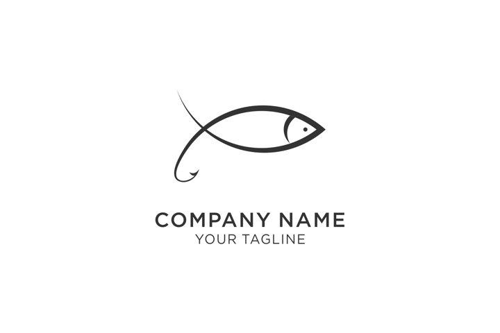 Line Fish Logo