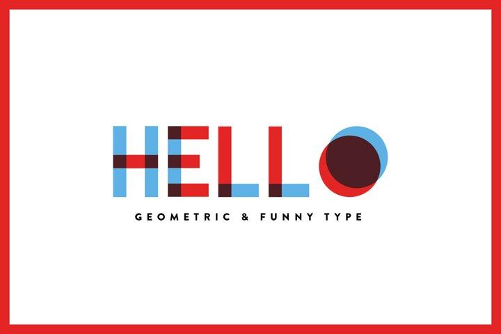 Hello - Font Family