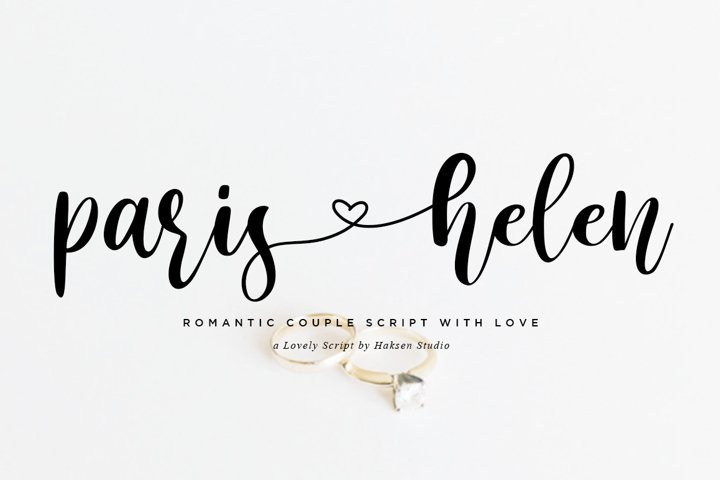 Paris Helen // Romantic Couple Love Script