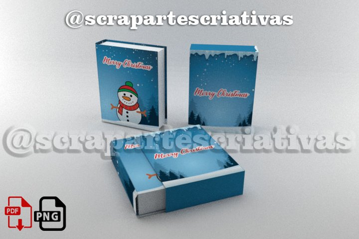 file box christmas book