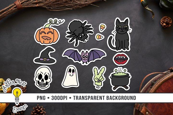 Creepy Cute Halloween Stickers