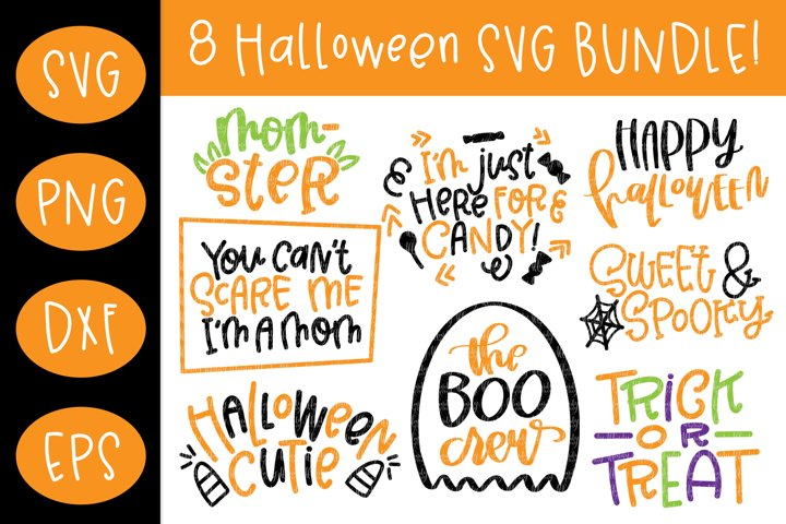 Halloween SVG Bundle Cut File for Cricut