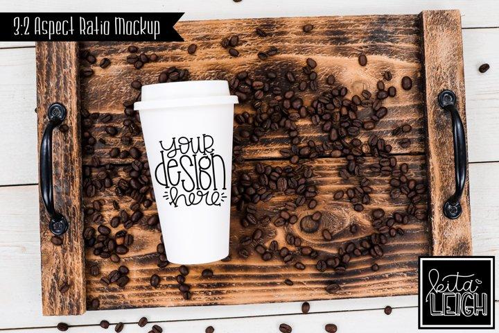 To Go Coffee Bean Mockup