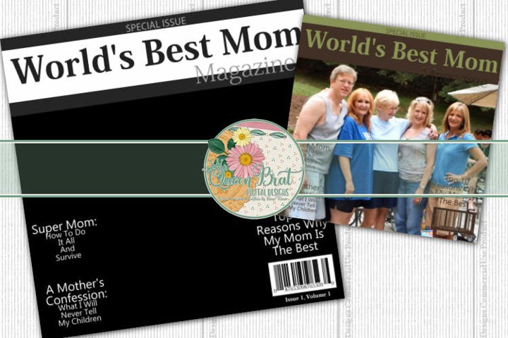 Magazine Cover Worlds Best Mom