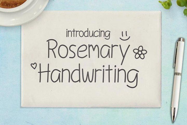 Rosemary Handwriting