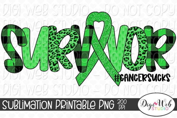 Liver Cancer Awareness Survivor Cancer Sucks Sublimation