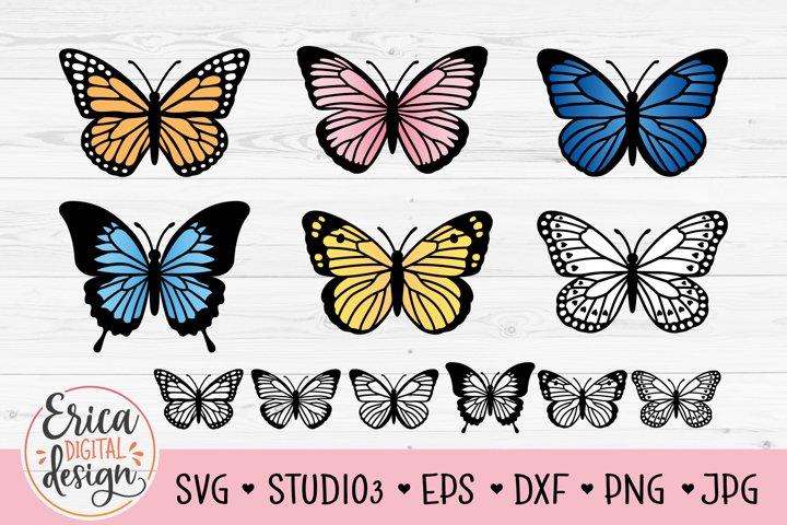 Butterfly SVG Bundle 12 cut files Cute Butterflies Spring