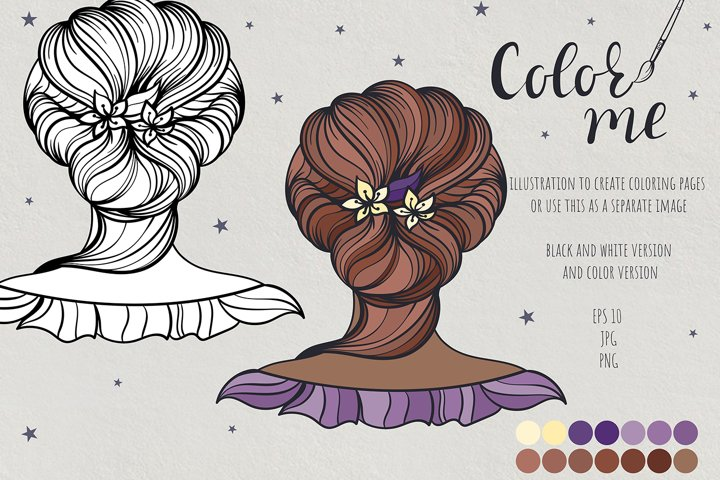 Color me. Womens hairstyle #11