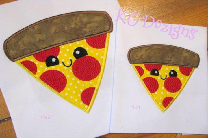 Cheat Day Pizza Machine Applique Embroidery Design