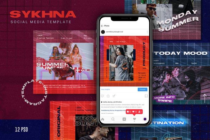 Sykhna Social Media Template
