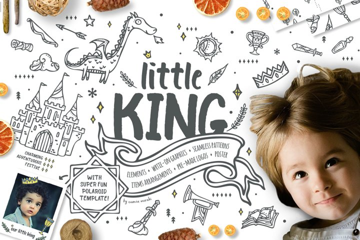 Little King - Prince Graphic Pack - kids and boys