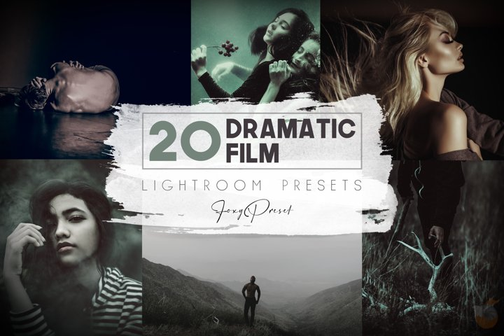 20 Dramatic Film Mobile & Desktop Lightroom Presets