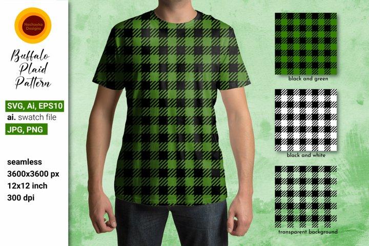 Buffalo plaid pattern SVG. Green Buffalo Plaid SVG Checkered