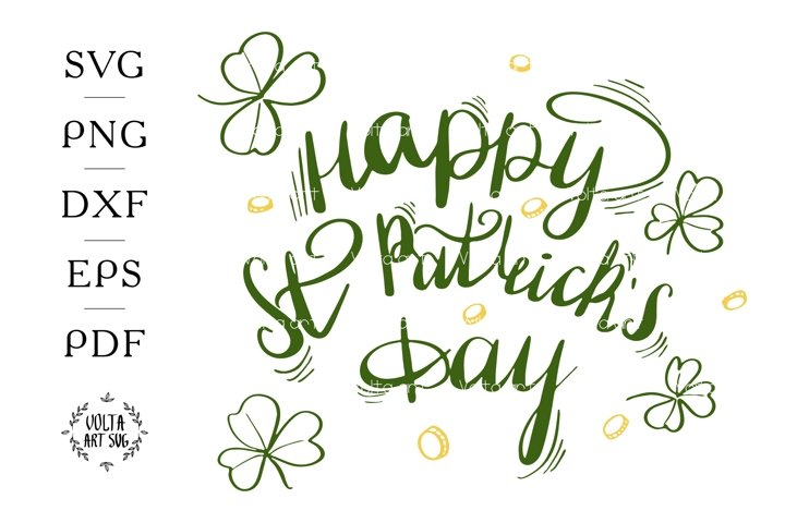 Happy St. Patricks day SVG. Irish Quote svg. Lucky Phrase