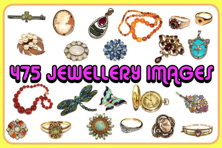 475 JPG Images of Vintage and Antique Jewelry Jewellery