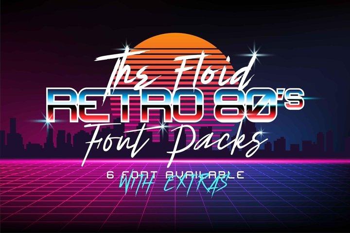 The Floid Font Packs