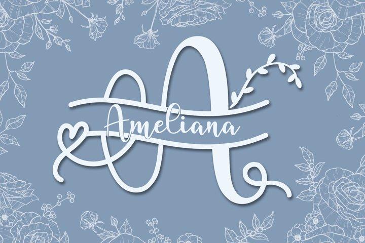 ameliana monogram