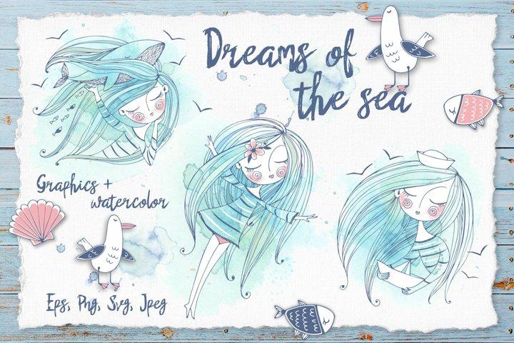 Dreams of the sea.