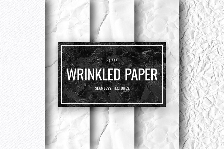 Seamless Paper - Wrinkled Paper Textures