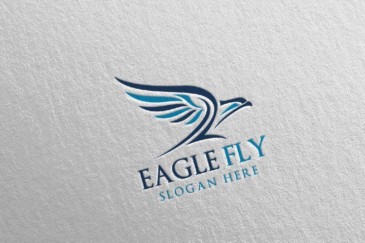 Eagle Star Logo Template