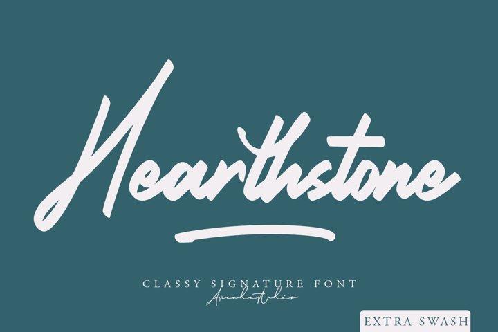 Hearthstone - Signature Font