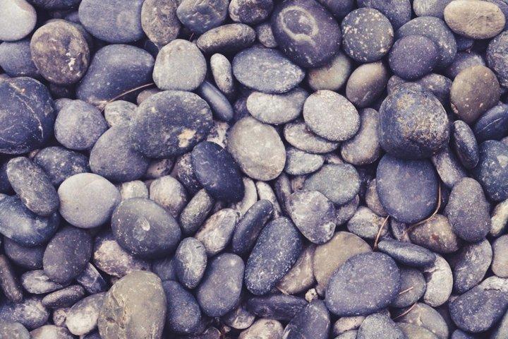 Outdoor Garden Pebbles and Stones