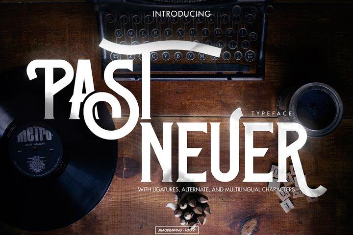 Past-Neuer Typeface