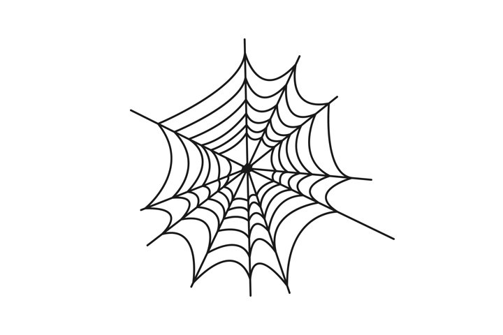 Spider web vector svg