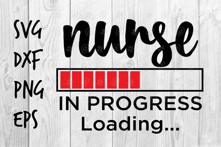 Nurse in progress SVG