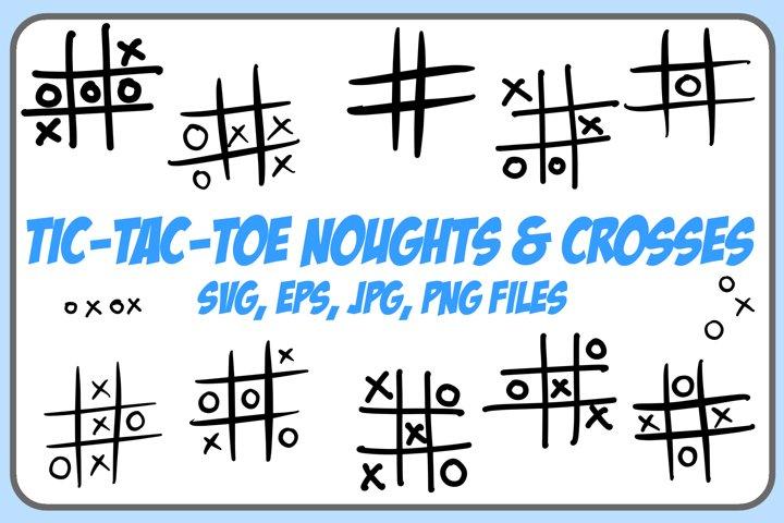 Tic Tac Toe Noughts & Crosses ESP, JPG, PNG, SVG