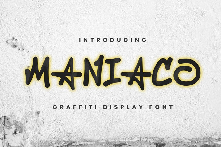 Maniaco Font