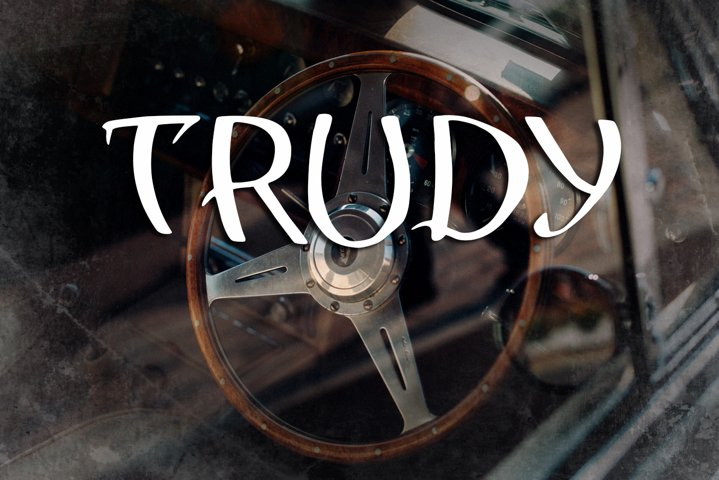 Trudy Vintage Font