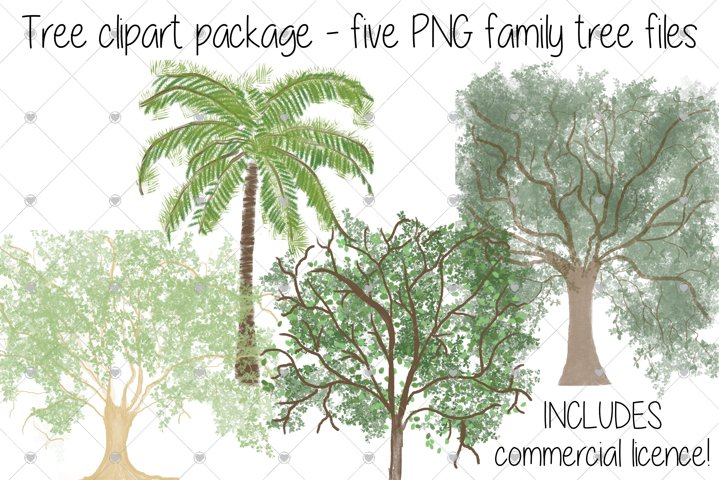 Family Tree clipart, Tree clipart, Tree, Trees,